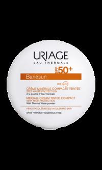 creme-minerale-compacte-teintée-claire-SPF50-10g-bariesun-uriage