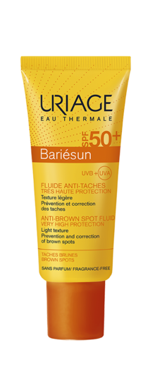 fluide-solaire-anti-taches-SPF50-40ml-bariesun-uriage