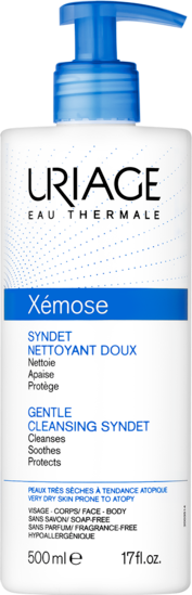 Syndet-Nettoyant-Doux-500mL-Xémose-Uriage